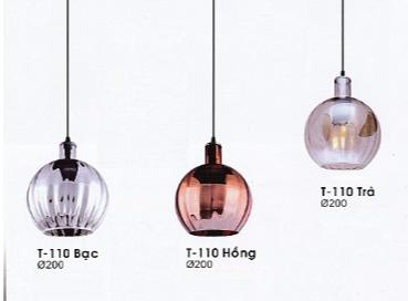 Đèn thả thủy tinh T110