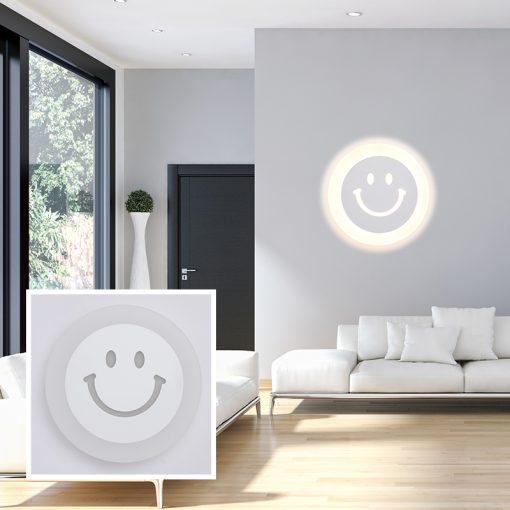 Đèn tường mặt cười V86178