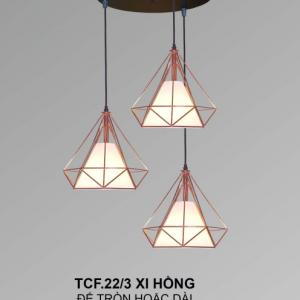 Đèn chùm TCF22/3 Xi Hồng