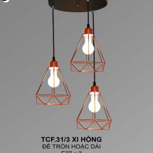 Đèn chùm TCF31/3 Xi Hồng