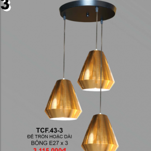 Đèn chùm TCF43-3