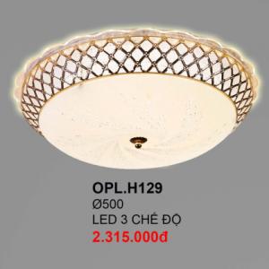 Đèn ốp trần hiện đại OPLH129