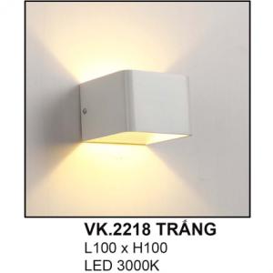 Đèn hắt tường VK2218 Trắng