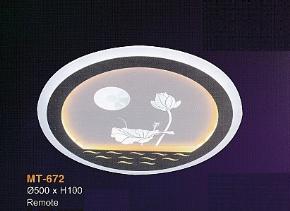 ốp trần hiện đại MT672