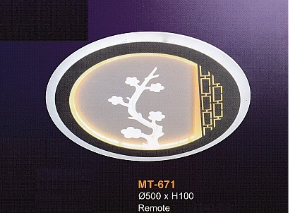 ốp trần hiện đại MT671