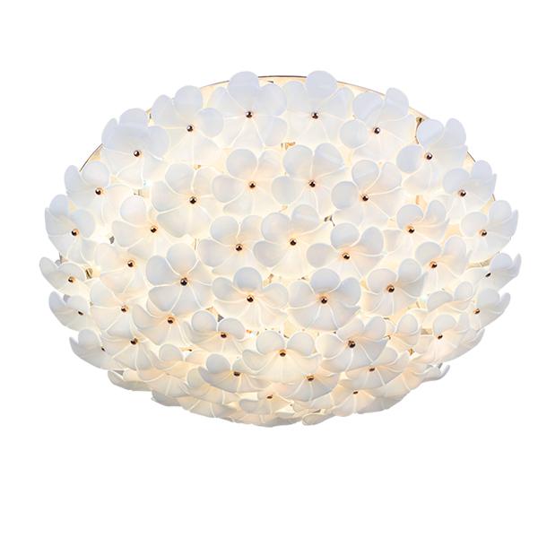 Đèn ốp trần hoa sứ – LAM474